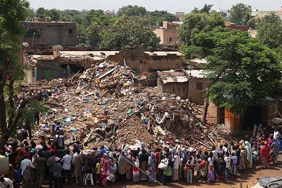 انهيار منزل فى مالى