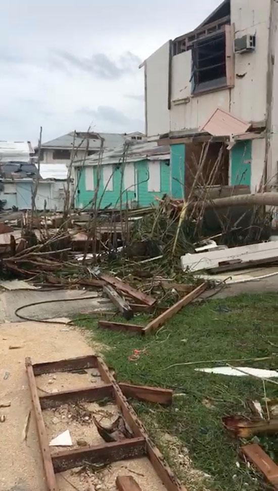 الدمار يسيطر على المشهد فى بعض المدن الأمريكية