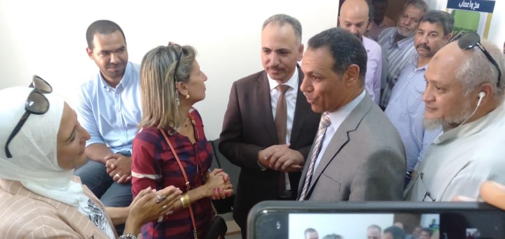 رئيس جهاز مدينة بدر يتفقد أكب رقافلة طبية بالمدينة  (5)