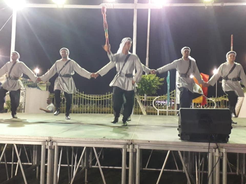 3-عروض مهرجان الفنون الشعبية