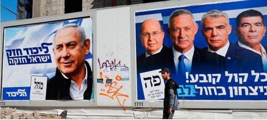 الانتخابات فى اسرائيل
