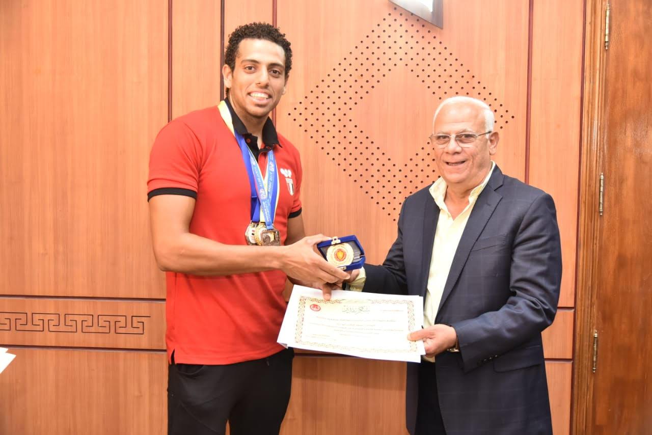 أبطال منتخب مصر لرياضة الكياك والكانوى  (6)