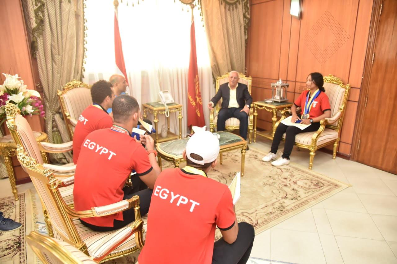 أبطال منتخب مصر لرياضة الكياك والكانوى  (1)