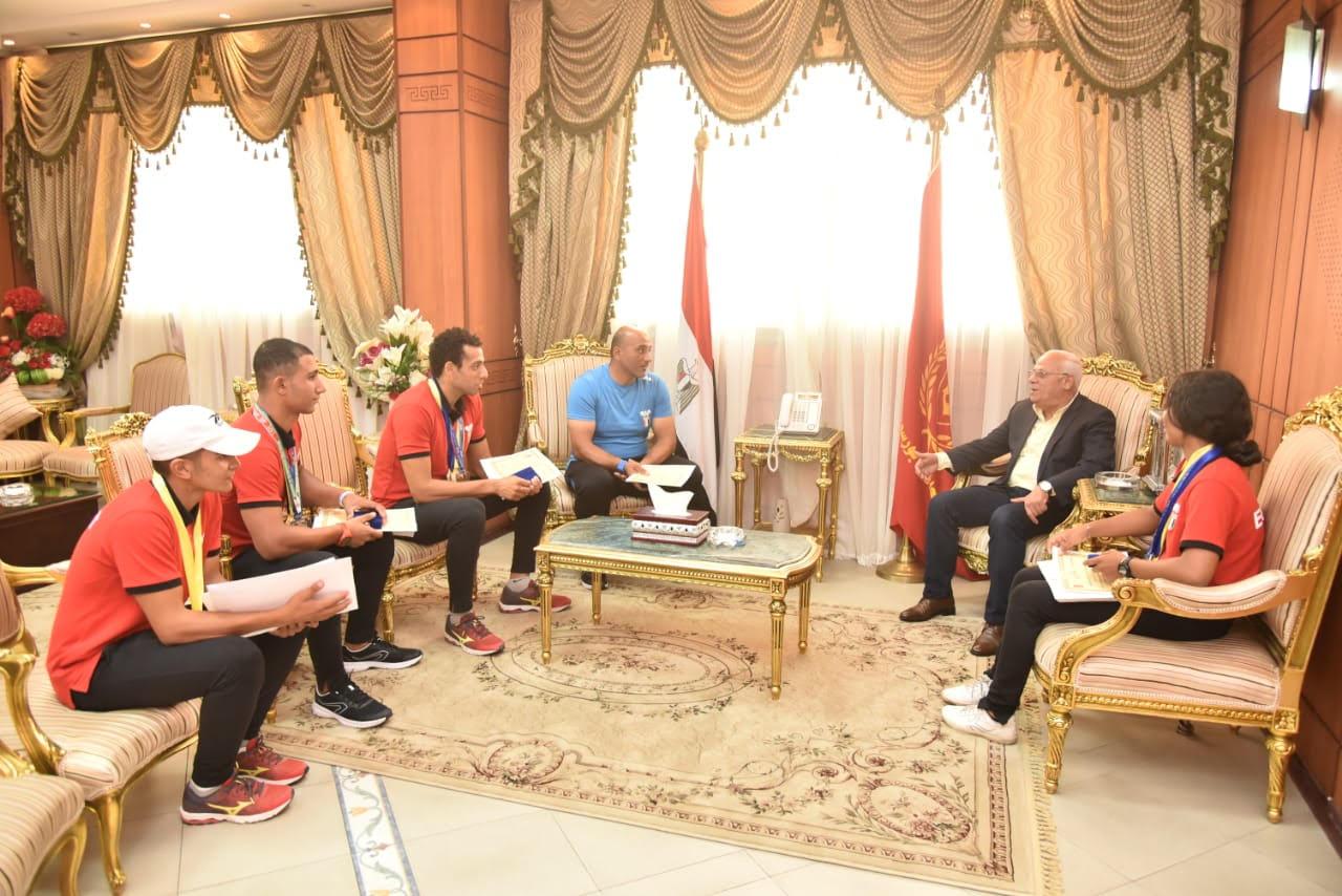 أبطال منتخب مصر لرياضة الكياك والكانوى  (9)