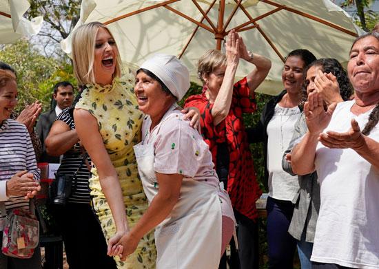 إيفانكا ترامب ترقص