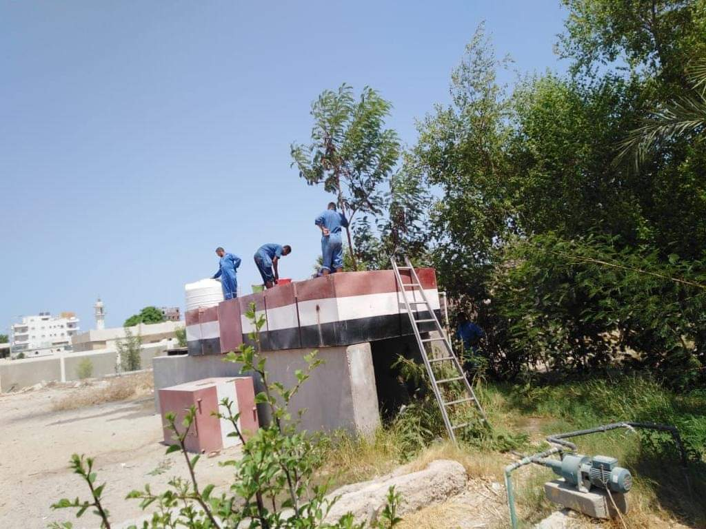 تطهير خزانات المدارس بالبحر الأحمر (4)
