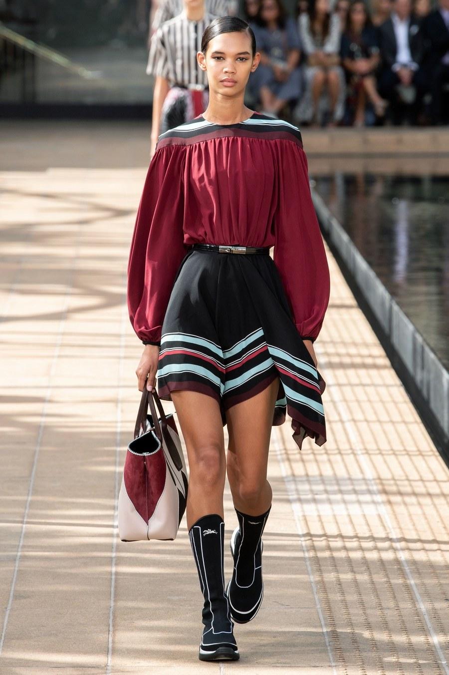 عرض أزياء Longchamp  بأسبوع الموضة بنيويورك (9)