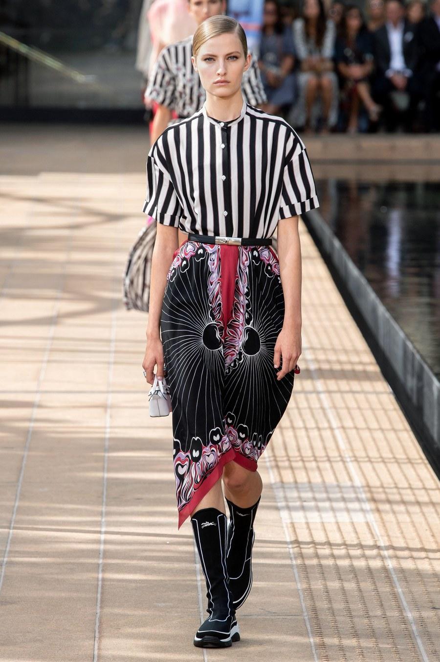 عرض أزياء Longchamp  بأسبوع الموضة بنيويورك (10)