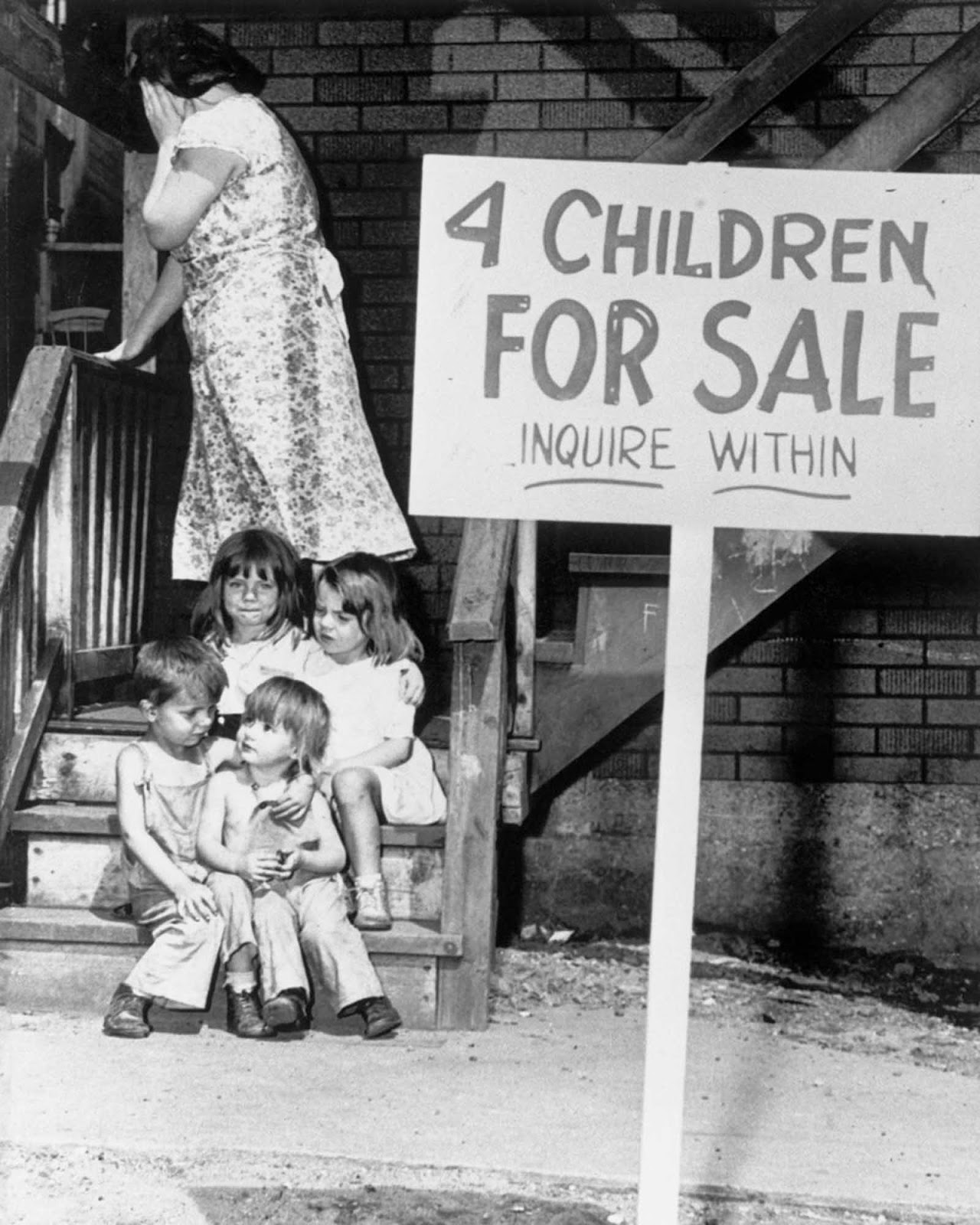 four_children_for_sale_1948