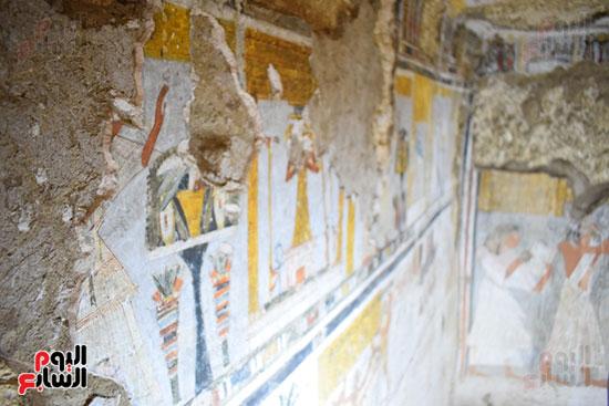 اليوم-السابع-داخل-مقبرتي-رع-يا-ونياي-بجبل-ذراع-أبوالنجا-بالأقصر-(30)