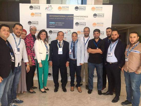 جامعة مصر بالمؤتمر العالمى لتطبيقات الليزر فى طب الأسنان بتونس (1)