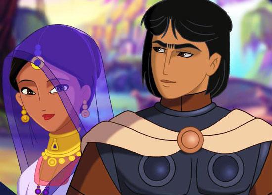الفارس-والاميرة