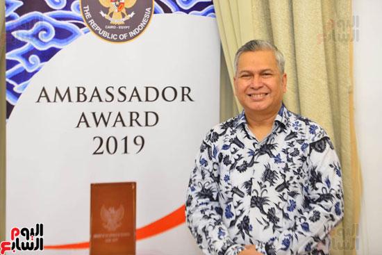 حفل السفير الاندونيسى وتوزيع الجوائز لليوم السابع (1)