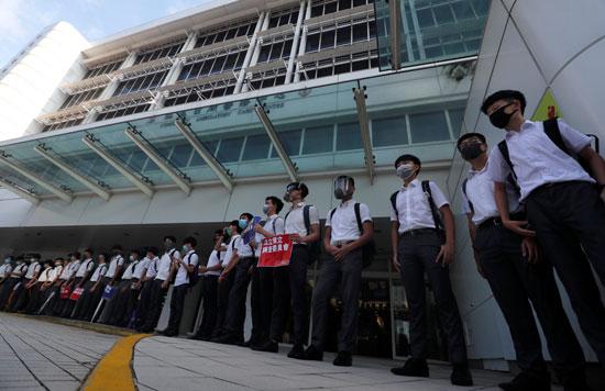 احتجاجات-طلاب-هونج-كونج