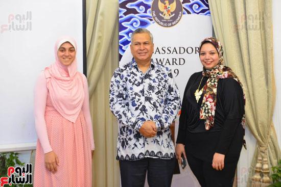 حفل السفير الاندونيسى وتوزيع الجوائز لليوم السابع (12)
