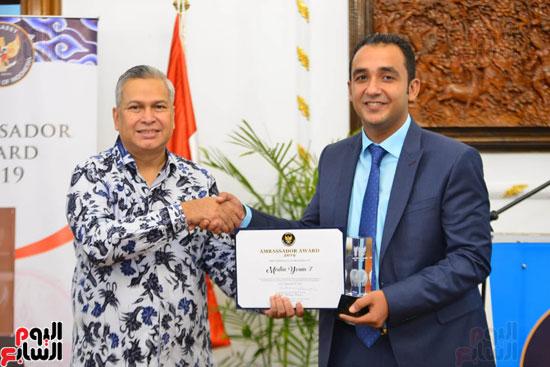 حفل السفير الاندونيسى وتوزيع الجوائز لليوم السابع (5)