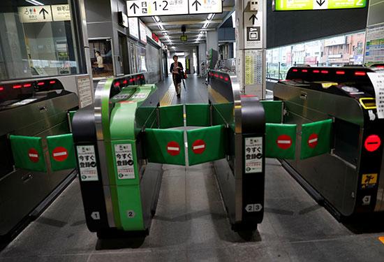 محطات القطارات خالية بسبب فاكساى