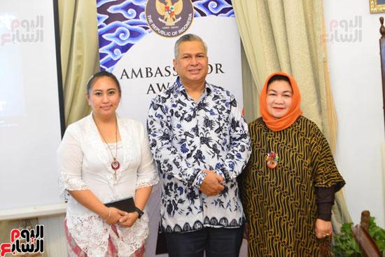حفل السفير الاندونيسى وتوزيع الجوائز لليوم السابع (13)