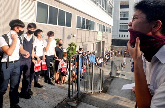 طلاب-هونج-كونج