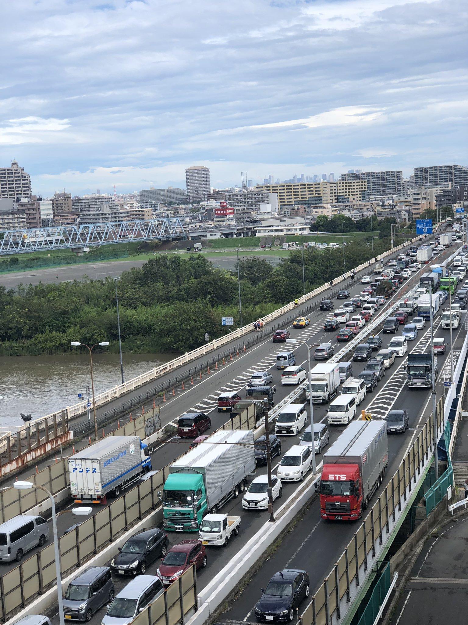 زحام الطرق فى اليابان