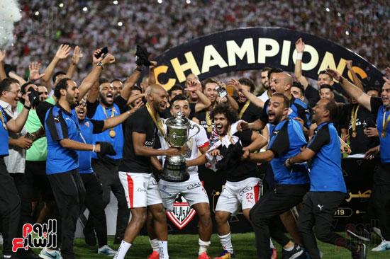 الزمالك بطل كأس مصر (1)