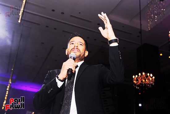 النجم محمد حماقى