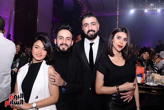 حضور حفل محمد حماقى ومايا دياب
