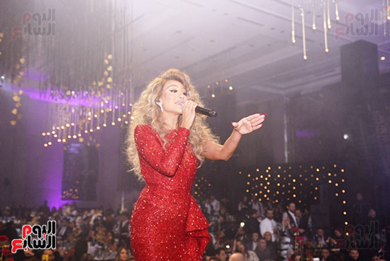 مايا دياب فى حفل راس السنة