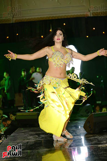 الراقصة صافيناز فى حفل راس السنة