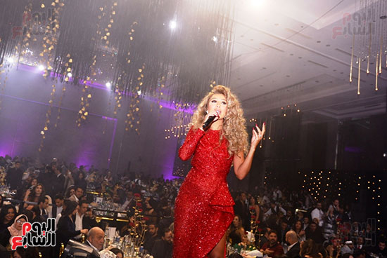 مايا دياب من الحفل