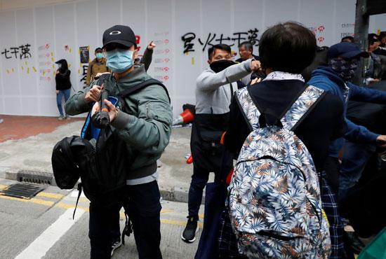 تظاهرات هونج كونج (2)