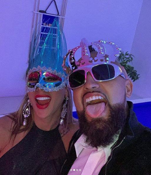 فيدال وزوجته