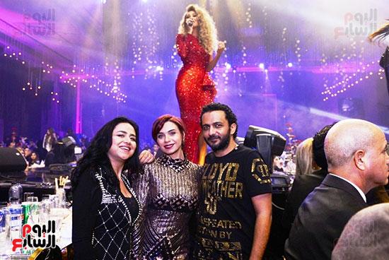 مايا دياب تتألق فى حفل راس السنة