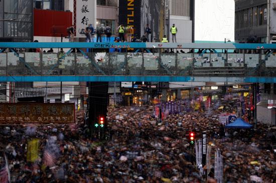 تظاهرات هونج كونج