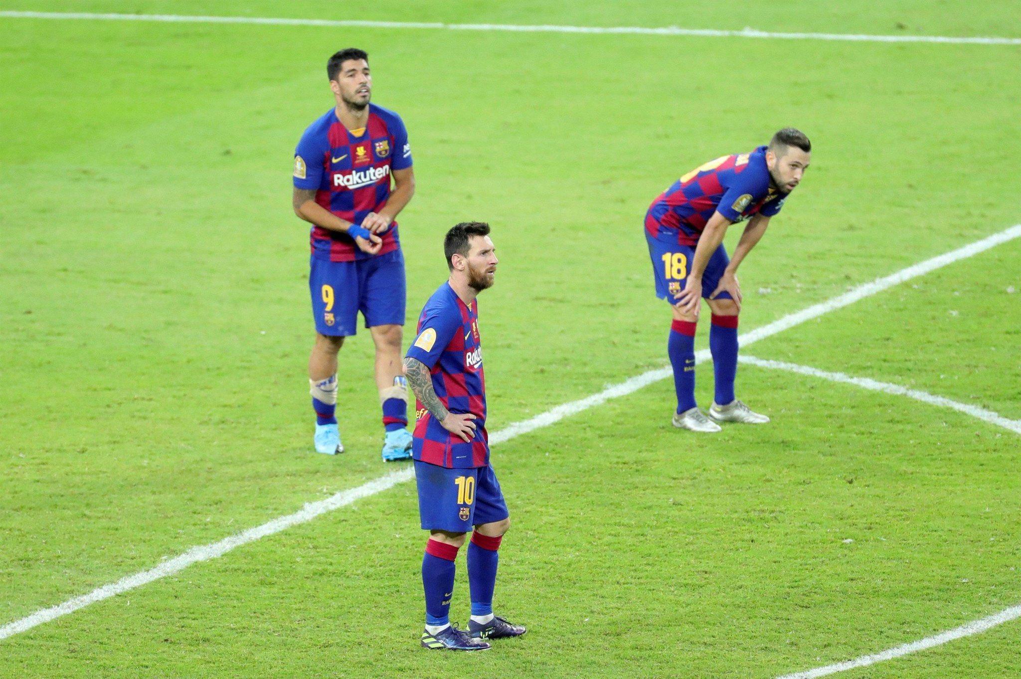 حسرة نجوم برشلونة