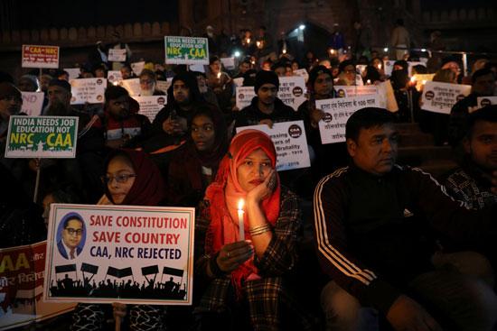 الاحتجاجات بالهند