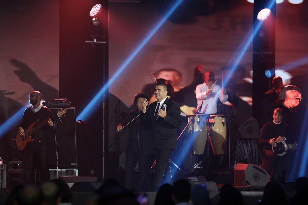 حفل جديد للفنان عمرو دياب فى السعودية