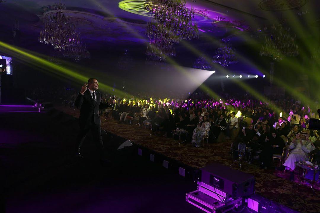حفل عمرو دياب فى جدة