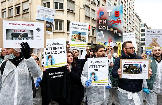 تواجه فرنسا ثمانية وثلاثين يومًا متتاليًا من الإضرابات