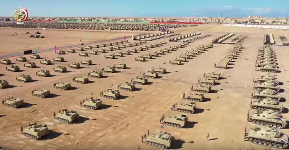 مناورات الجيش المصرى