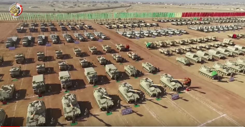 مناورة بالجيش المصرى
