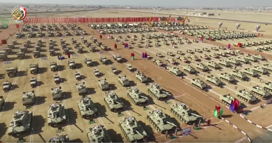 المدرعات بالجيش المصري قادر 2020