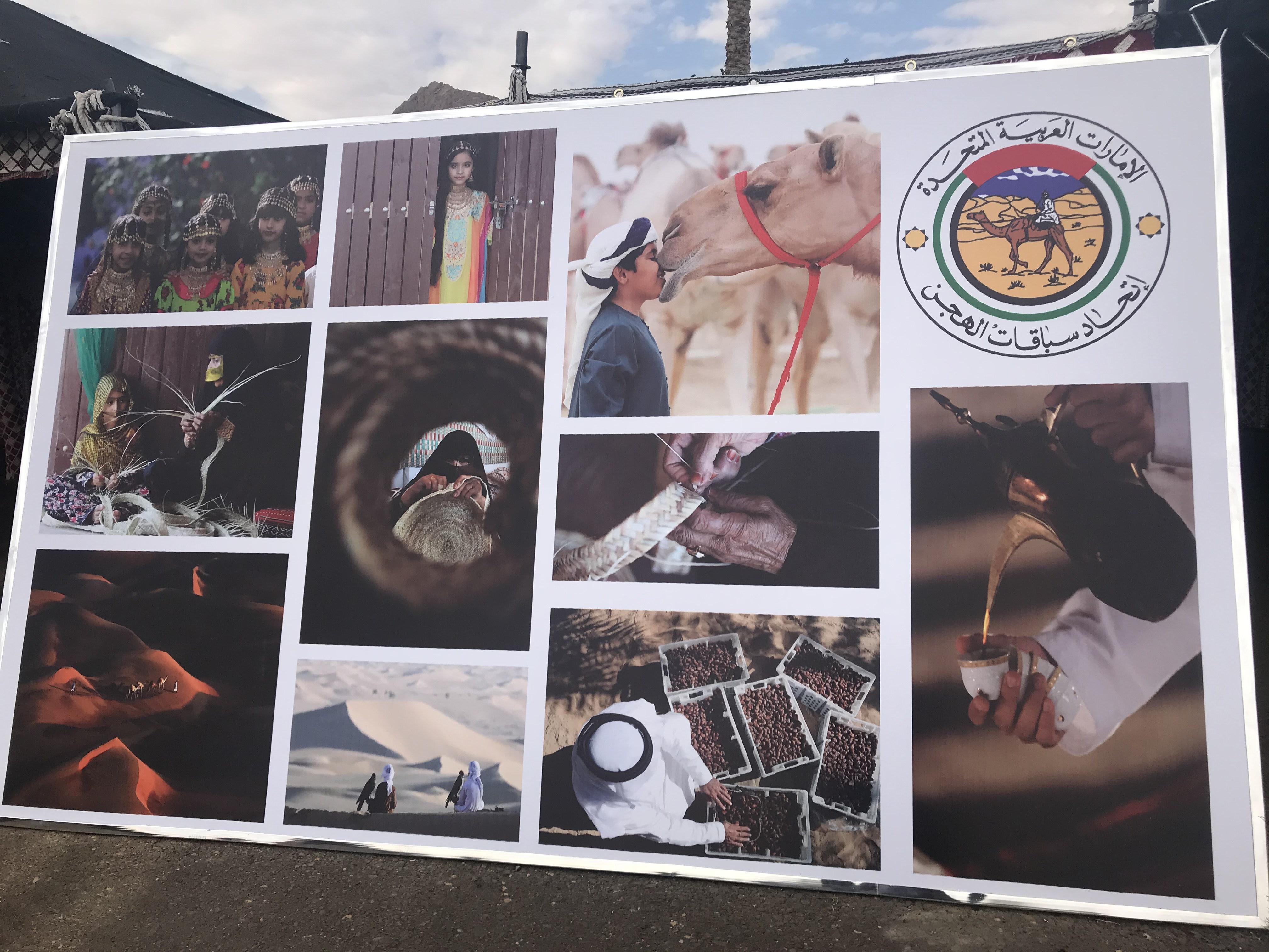 قرية لعرض تراث الإمارات على هامش مهرجان شرم الشيخ للهجن (1)