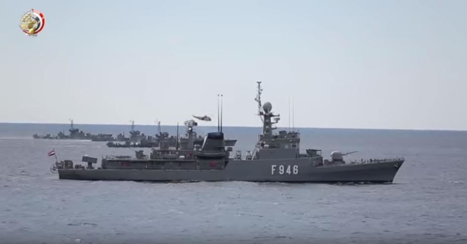 القطع البحرية بالجيش المصرى