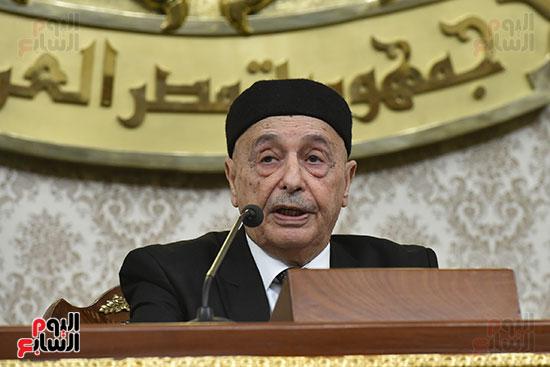 المستشار عقيله صالح رئيس البرلمان الليبى