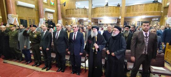 محافظ كفرالشيخ يشهد مراسم مئوية تأسيس كنيسة مار جرجس بدسوق (15)