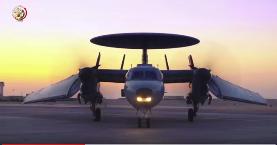 إحدى طائرات الجيش المصرى الحديثة