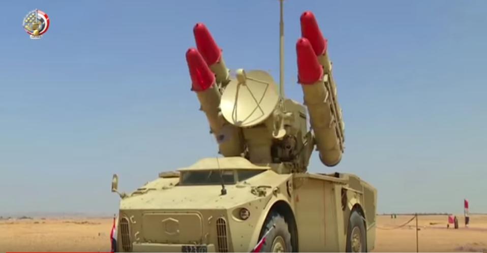 منظومات الدفاع الجوى بالجيش المصرى