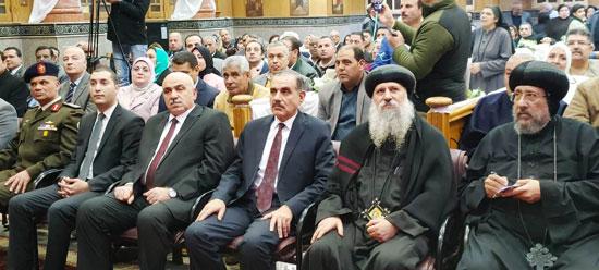 محافظ كفرالشيخ يشهد مراسم مئوية تأسيس كنيسة مار جرجس بدسوق (11)