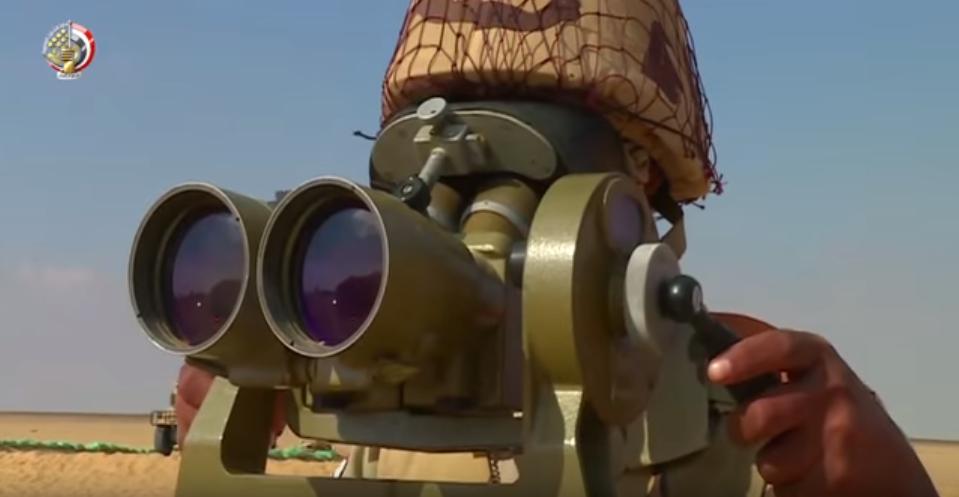 أحد مقاتلى الجيش المصرى